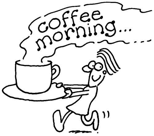 coffee morning clipart - 'Back to School' Coffee Morning