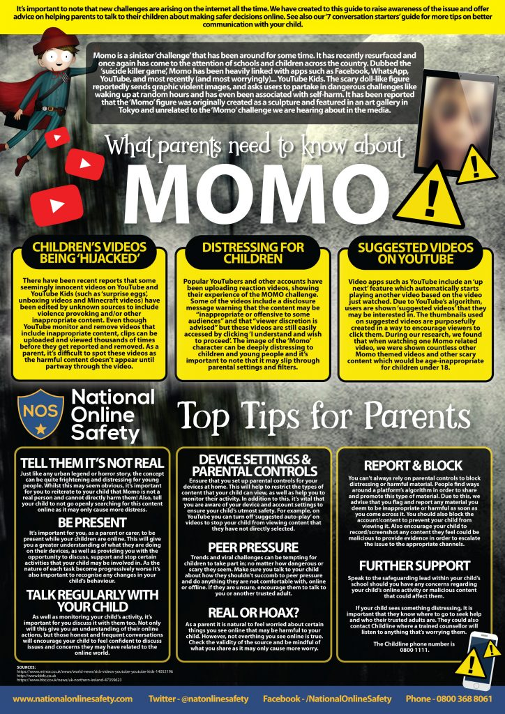 MOMO Online Safety Guide for Parents FEB 2019 724x1024 - Internet Safety Guides