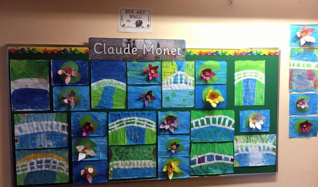 monet3 1024x602 - Monet Artwork in 5th Class