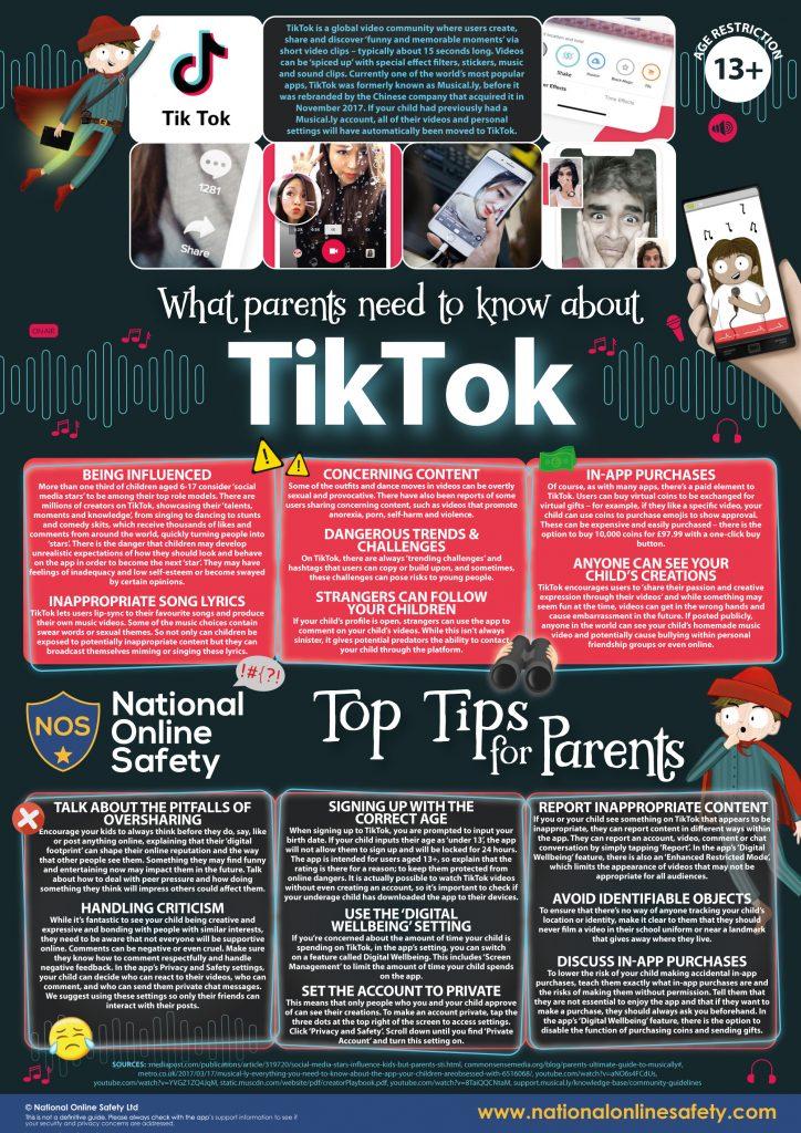 Tik Tok Parents Guide October 2018 v2 724x1024 - Internet Safety Guides
