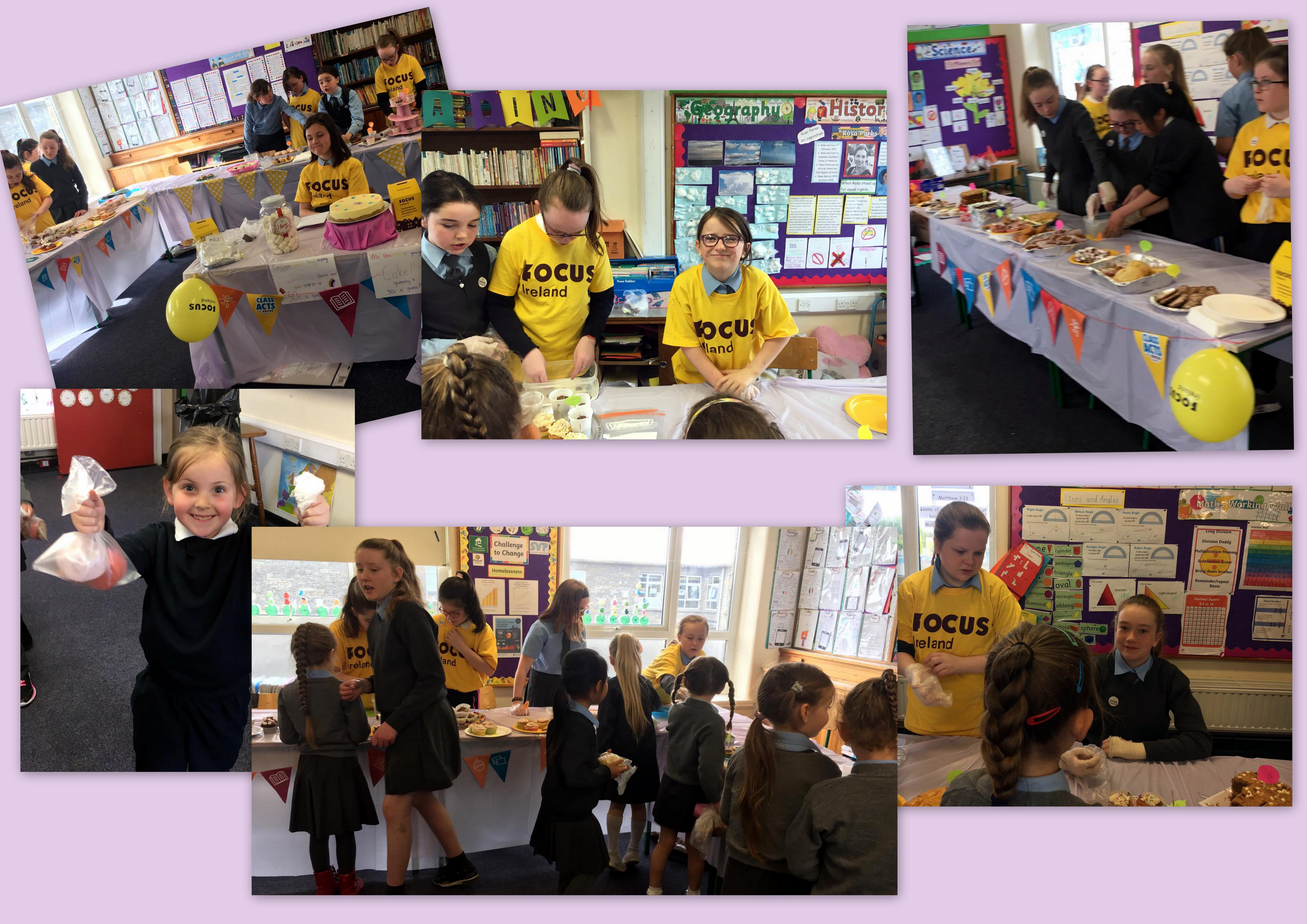 5th Class Challenge to change1 - Bake Sale - Fifth Class