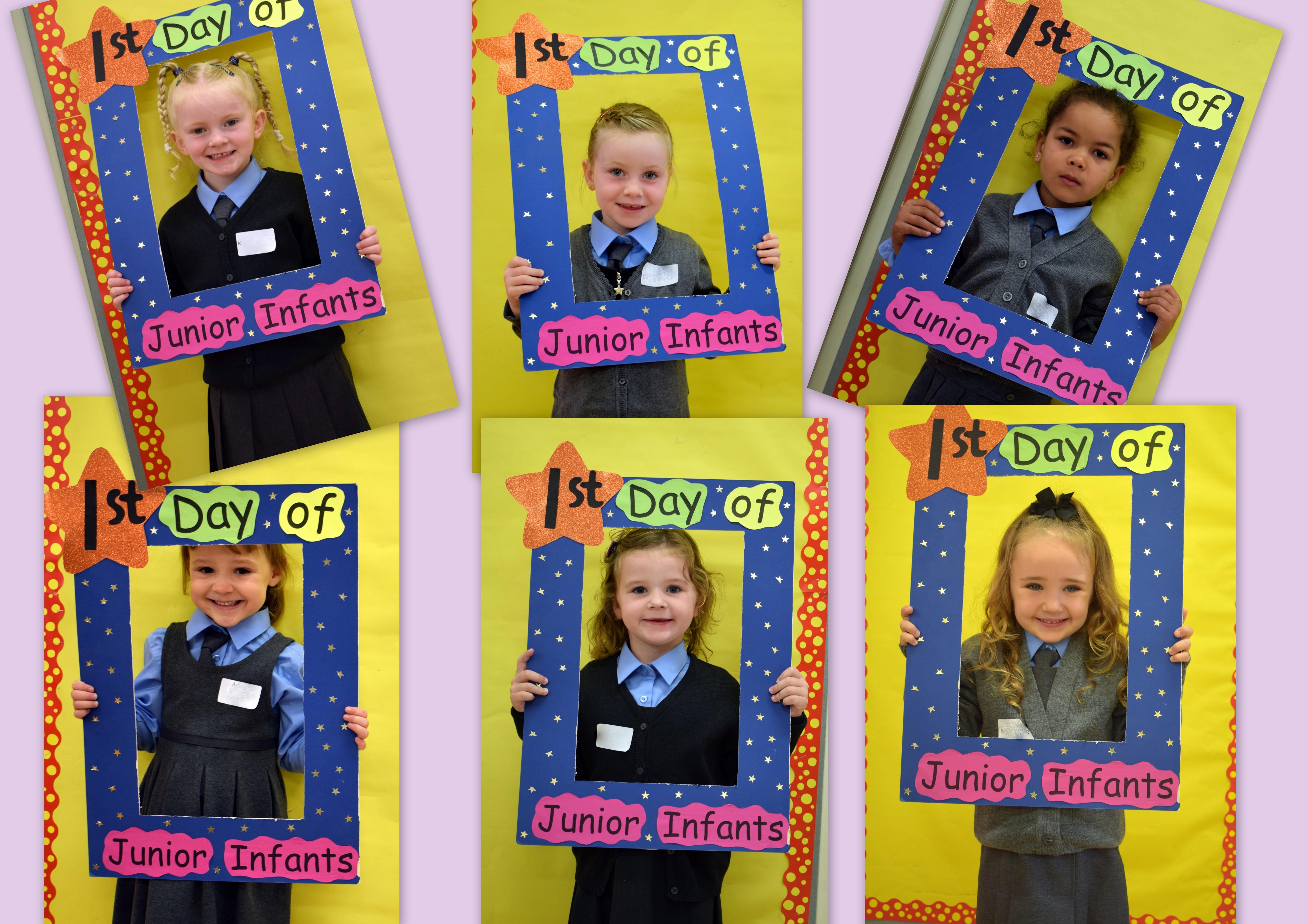 Junior Infants 20191 - First day in Junior Infants