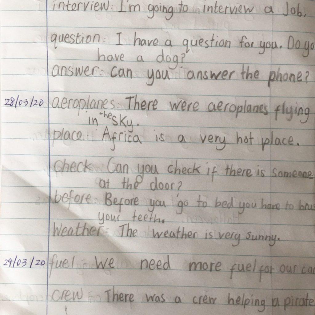 Super Sentences CH 1st Class 1024x1024 - Gallery of Work Created