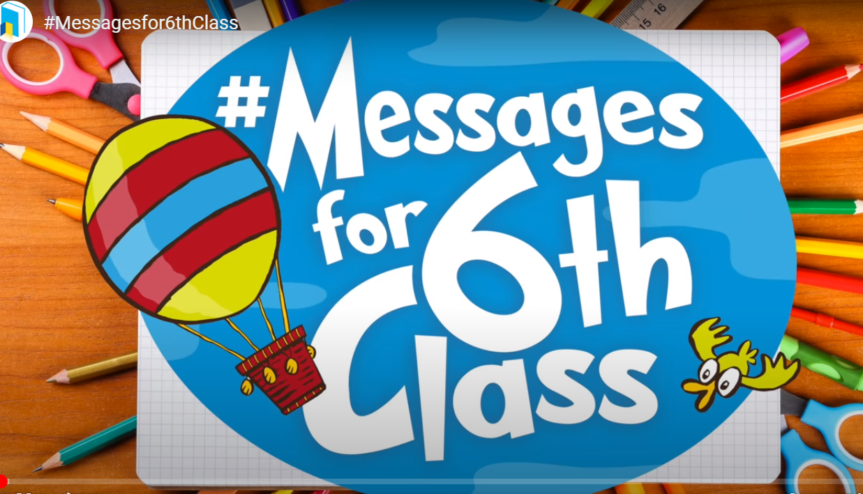 messagesfor6th - Messages for 6th Class